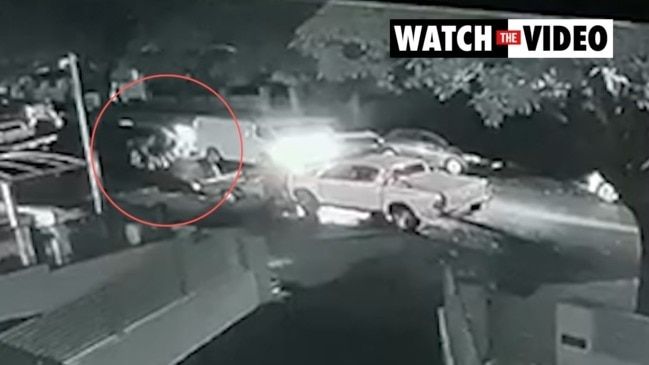 Kidnapping caught on CCTV