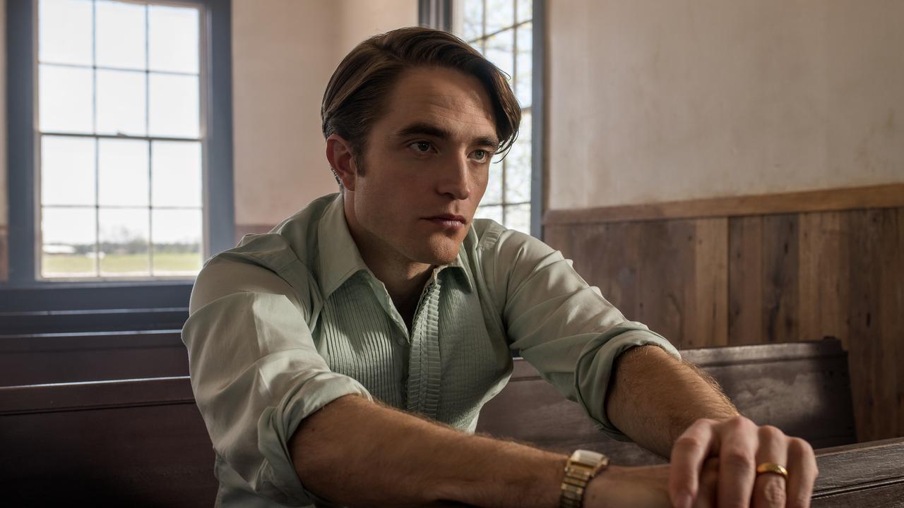 Robert Pattinson plays a predatory preacher in The Devil All The Time.