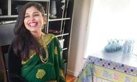 Inside an Indian baby shower