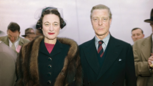 Edward VIII and Wallis Simpson remained married until his death in 1972. Picture: Getty Images