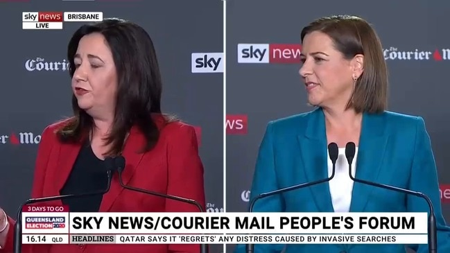 """That is not true"": Palaszczuk hits back"