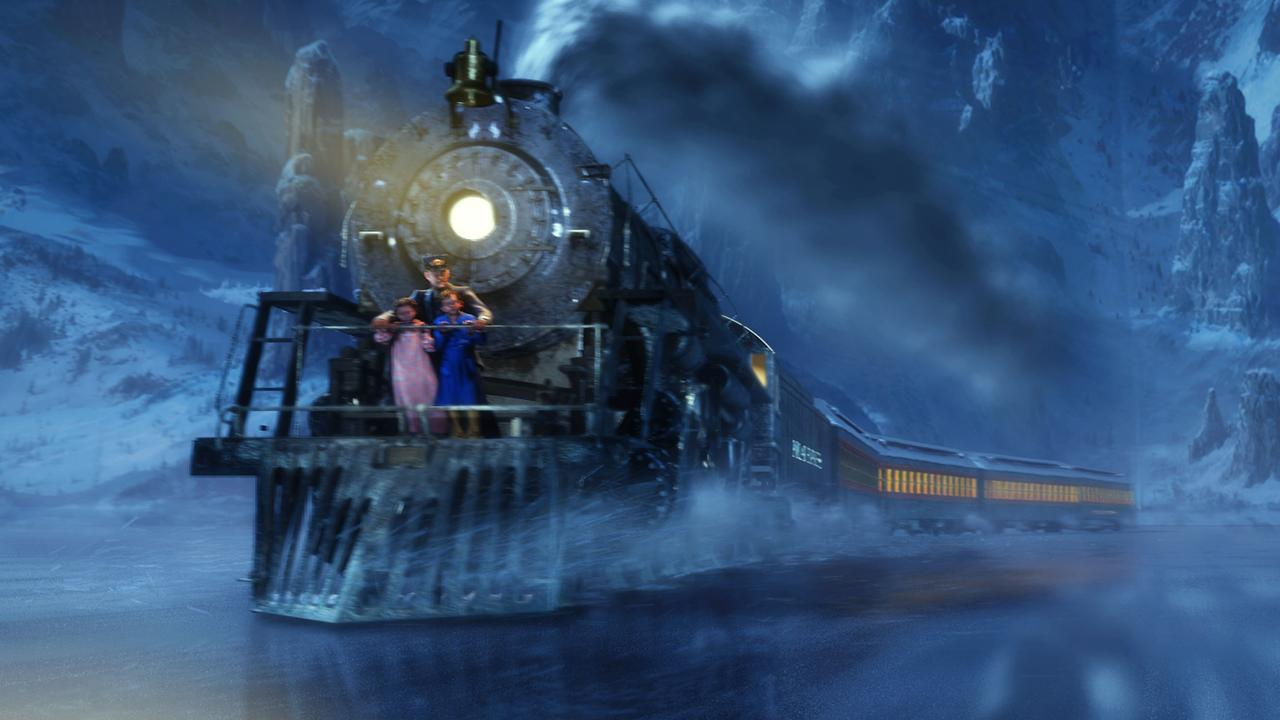 "Scene from animated film ""The Polar Express"".  /Films/Titles/Polar/Express"