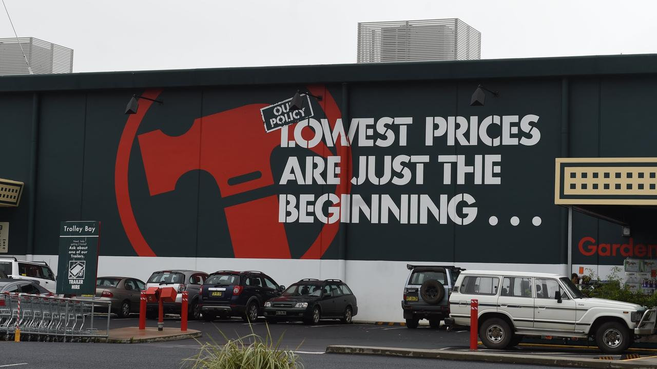 Bunnings could downsize in the future, commercial agents predict.
