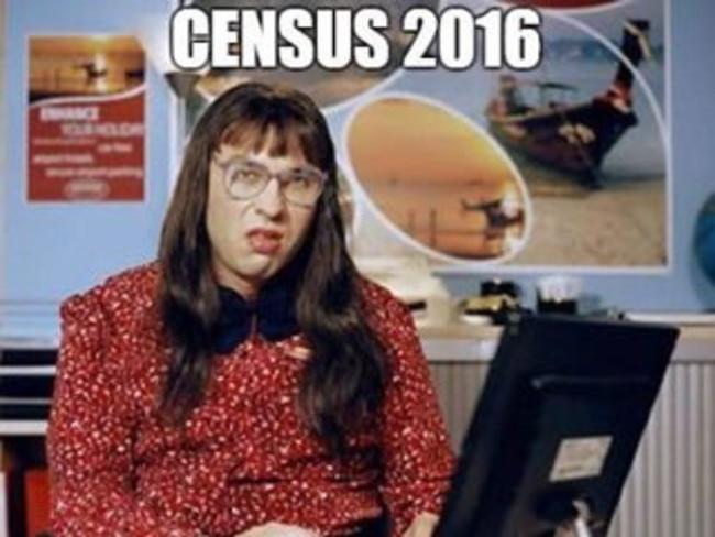 One of many memes mocking the bungled census.