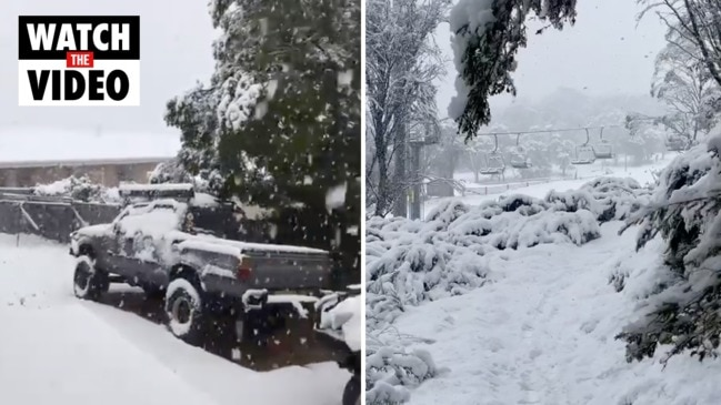 Regional NSW blanketed by snow