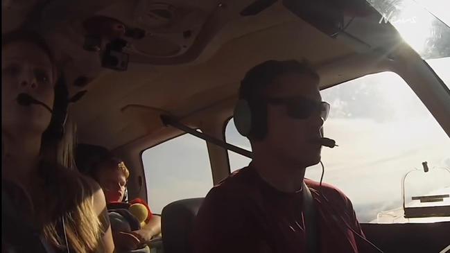 Hero pilot saves plane carrying his own family