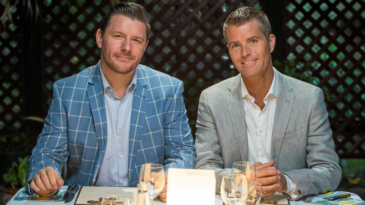 My Kitchen Rules judges Manu Feildel and Pete Evans. Picture: Paul Broben