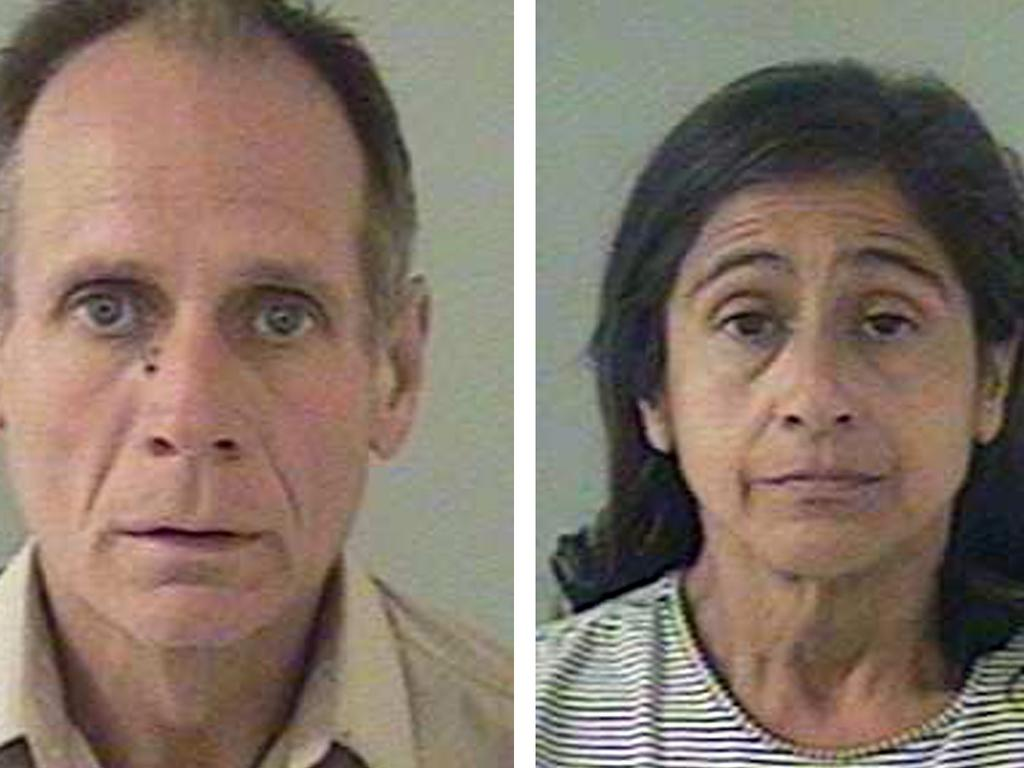 Phillip and Nancy Garrido kept Jaycee Lee Dugard for 18 years. Picture: AFP