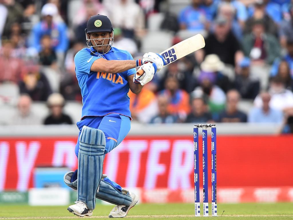MS Dhoni scored 10,599 ODI runs for India.