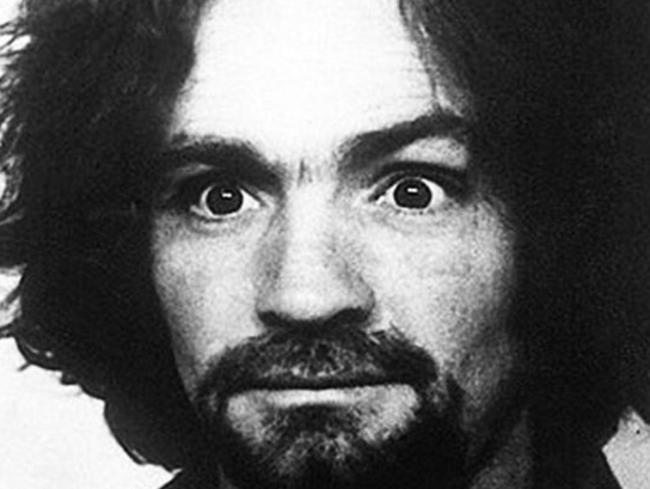 Charles Manson mugshot. Picture: Supplied