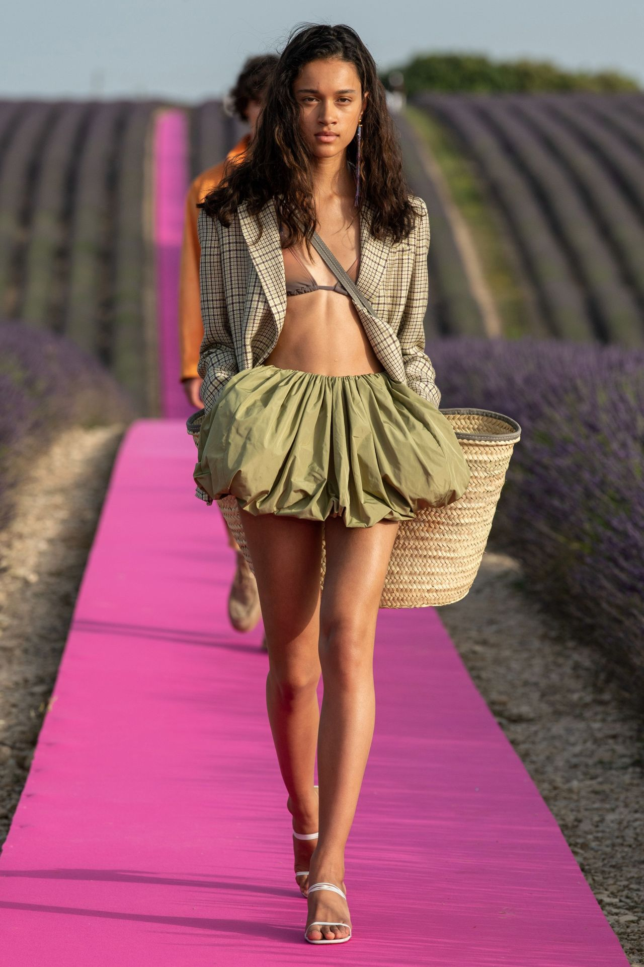 Vogue meets Jacquemus in Provence's lavender fields for its 10th anniversary show
