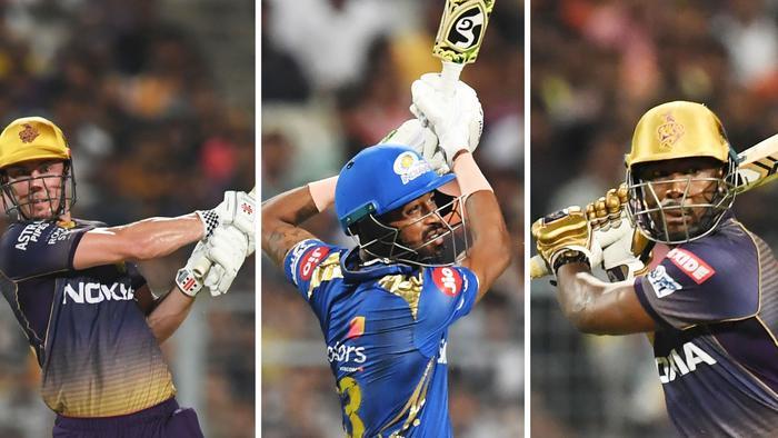 Chris Lynn, Hardik Pandya and Chris Lynn all made half-centuries as Kolkata beat Mumbai.