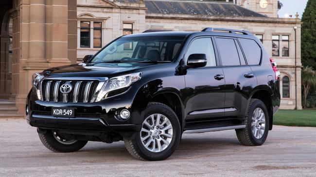 Toyota helped sort out a reader's troublesome infotainment system on a Prado Pic: supplied