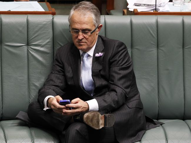 Malcolm Turnbull says there are 'a gazillion' apps you can use to avoid metadata retention.