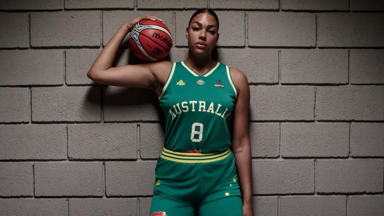 Australian basketball star Liz Cambage.