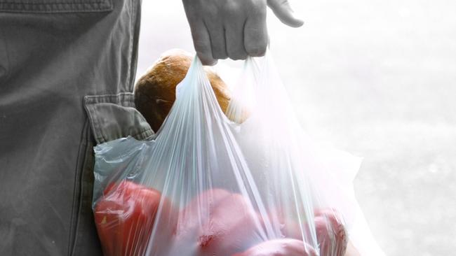 Single use plastic bags will now be banned in Queensland. Picture: File