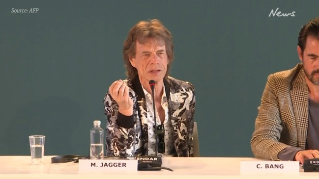 Mick Jagger on politics and climate change