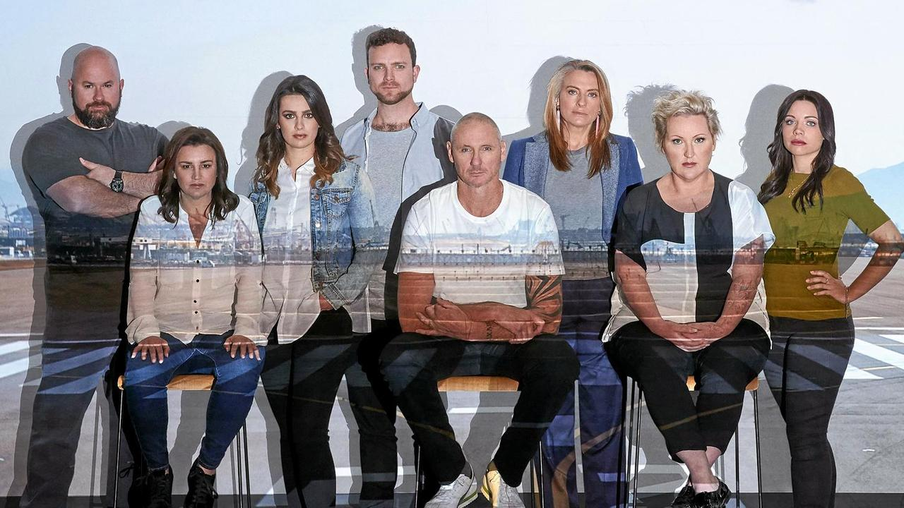 This year's Go Back To Where You Came From Live participants include Jacqui Lambie, Spida Everitt, Gretel Killeen and Meshel Laurie. Picture: SBS-TV