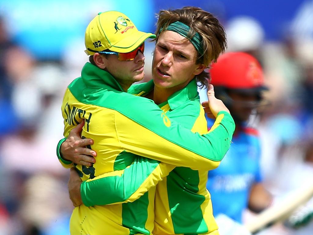 Adam Zampa took three important wickets for Australia.