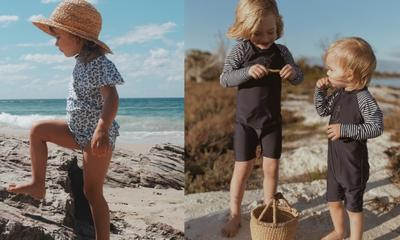 Purebaby just launched swimwear and it's too cute