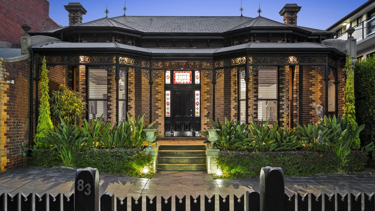This 1870s house at 83 Caroline St, South Yarra has been elevated with a brilliant renovation.