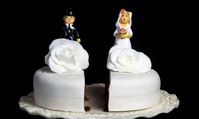 Our marriage began to disintegrate and I couldn't live with him anymore. Image: iStock