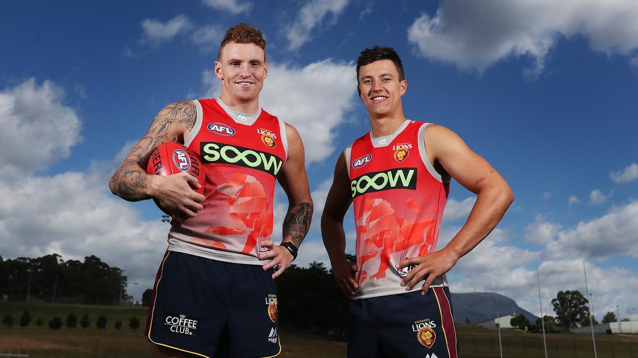 Mitch Robinson reckons Brisbane teammate Hugh McCluggage was stiff to miss All-Australian selection. Picture: Nikki Davis-Jones