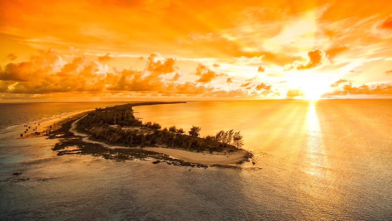 The Marshall Island are undeniably beautiful and unfortunately mostly uninhabitable. Picture: ABC