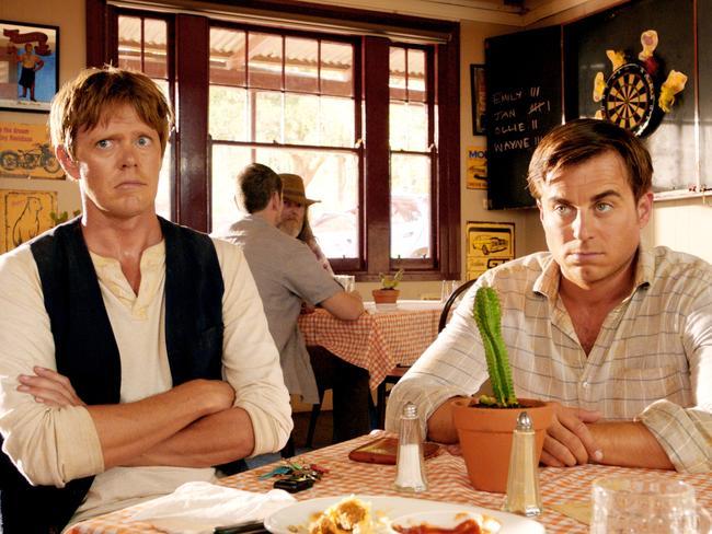 A Few Best Men regulars Kris Marshall (left) and Kevin Bishop return for sequel of sorts A Few Less Men.