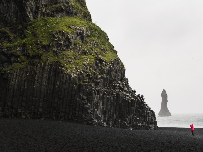 Sense8: Halsanefshellir Cave, Reynisfjara Beach, IcelandThe eerie sea stacks of Halsanefshellir Cave were the perfect place for the character of Riley to have a mysterious meeting, during the Wachowskis (creators of The Matrix) first season of Sense8: a genre-defying, international sci fi series. You might also recognise the dark, basalt seascape from a lil ol' tv show called Game of Thrones - this was the setting for Eastwatch-by-the-Sea.