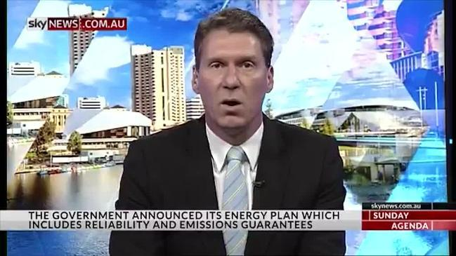 Cory Bernardi on the newly announced government's energy package