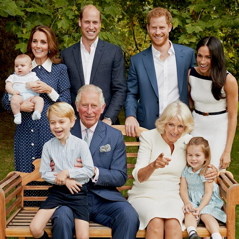 Prince Harry and Meghan Markle's exit has considerably upped the average age of working royals. Picture: Chris Jackson / Clarence House via Getty Images.