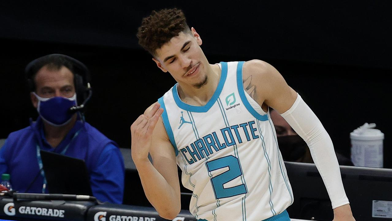 LaMelo Ball is proving his doubters wrong. (Photo by Jared C. Tilton/Getty Images)