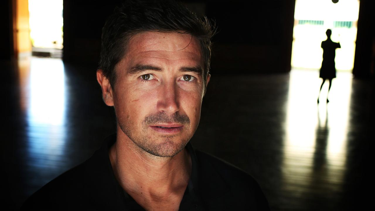 Harry Kewell talks about his new football Academy (HK Academy) back at his old school at Smithfield Public. pic. Phil Hillyard