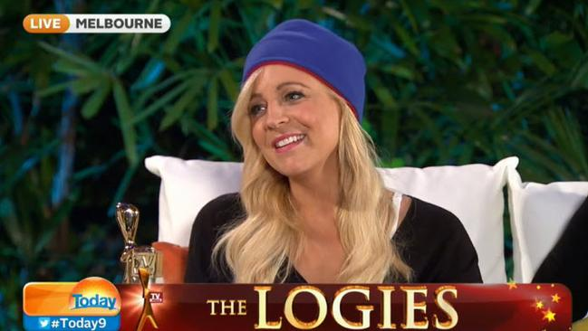 Carrie Bickmore on the Today Show.