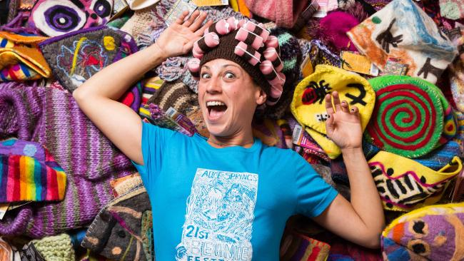 9/14It's beanie central So much so that every year, the Beanie Festival runs for three days in June – highlighting and raising funds for Indigenous women in the Territory. There is a prize for the best tea cosy.