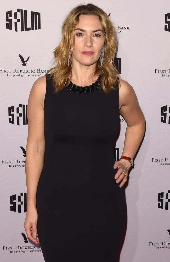 Kate Winslet, 45, is still haunted by the scene in which she poses naked for Jack to draw her. Picture: C Flanigan/Getty Images