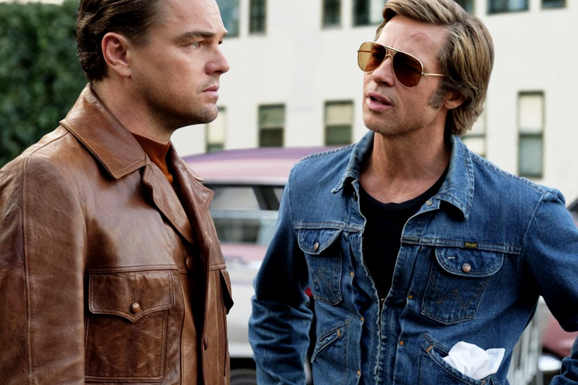 Brad Pitt's Once Upon A Time In Hollywood Jacket Costs Just $160