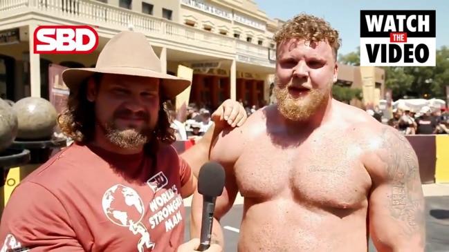 Tom Stoltman wins 2021 World's Strongest Man