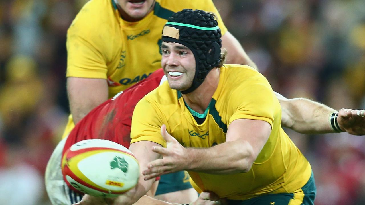 Liam Gill says he was approached to return home by Wallabies coaches, but was left in the lurch by Rugby Australia. Photo: Getty Images