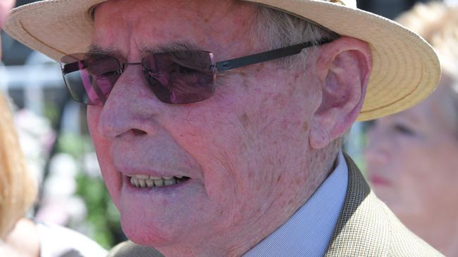 Former trainer Neville Begg has an excellent chance to win the Golden Slipper with Written By, a horse he bred and owns. Picture: Simon Bullard