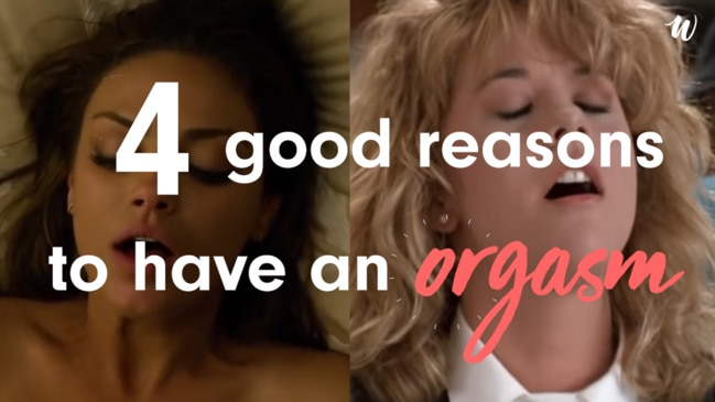 4 good reasons to have an orgasm