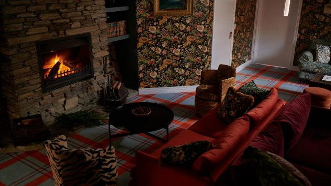 An inviting lounge with roaring fire and comfy sofas is the perfect spot to take tea (or whiskey) and relax in between adventures, and plays host to a complimentary drinks hour every evening from 5-6pm.