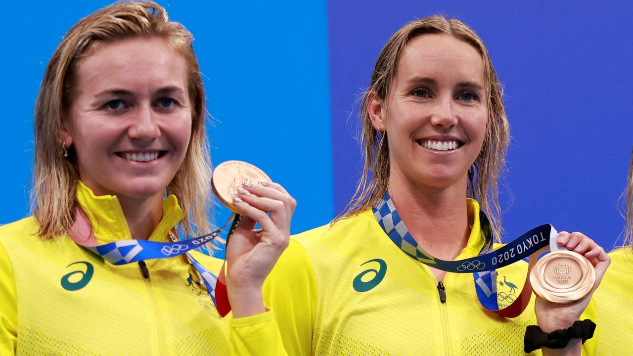 Show them the money: Fears quarantine comedown could cost swim stars 'life-changing' payday