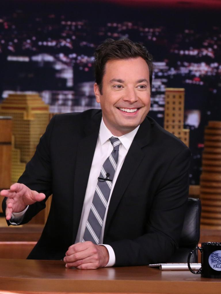 Fallon has since released an apology over the skit. Picture: Andrew Lipovsky/NBC/NBCU Photo Bank via Getty Images