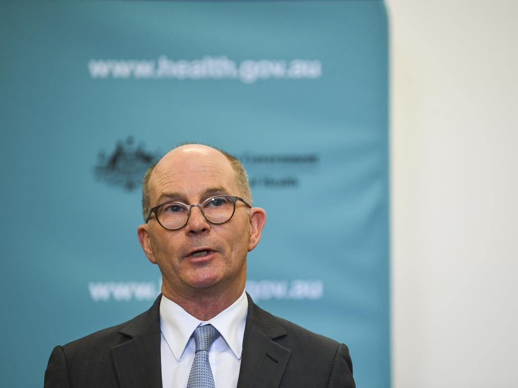 Deputy Chief Medical Officer Professor Paul Kelly. Picture: Lukas Coch
