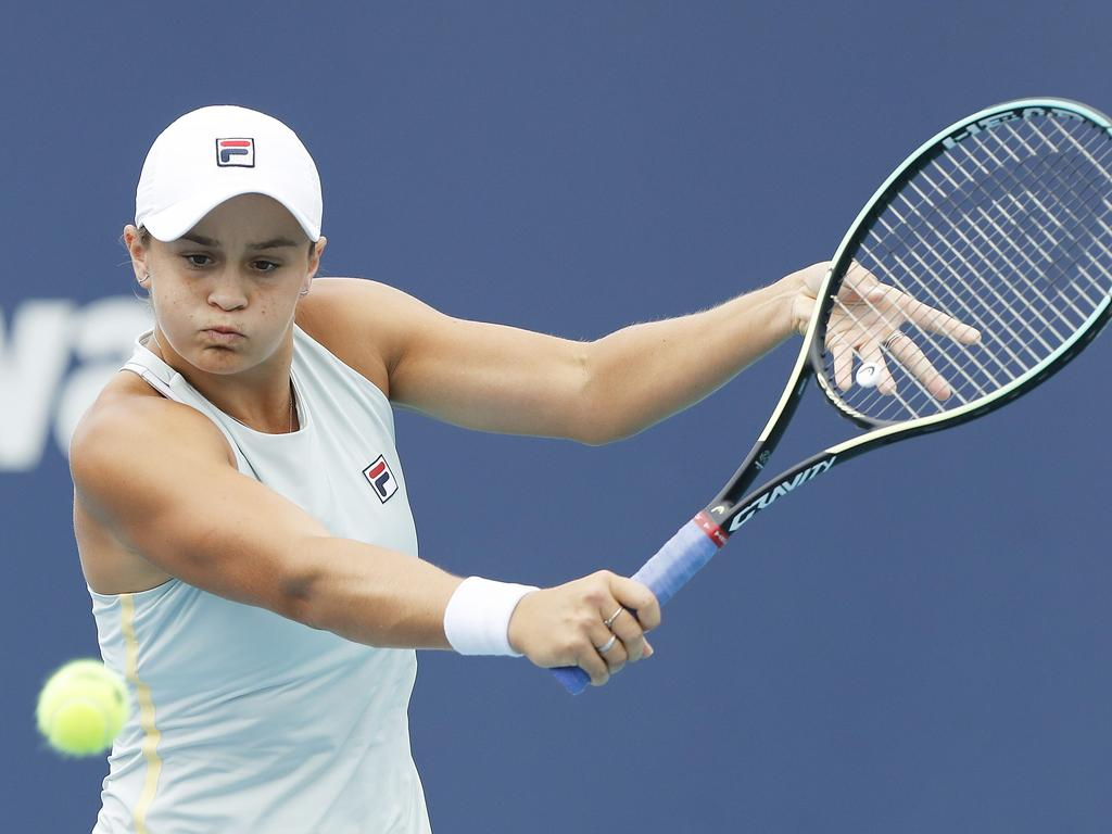 The wins keep coming for Ash Barty.