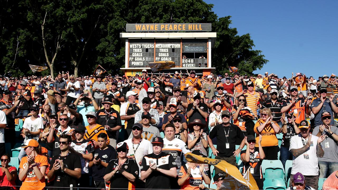 Fans could be slapped with a beer limit on Sunday. Picture: Gregg Porteous