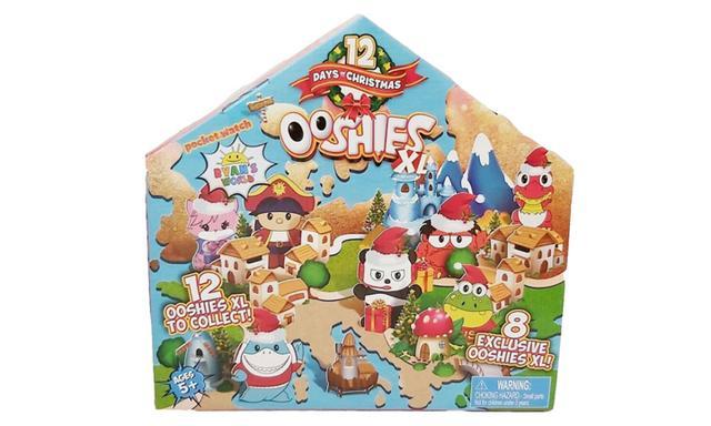 Ooshies XL 12 days of Christmas Ryans World advent calendar
