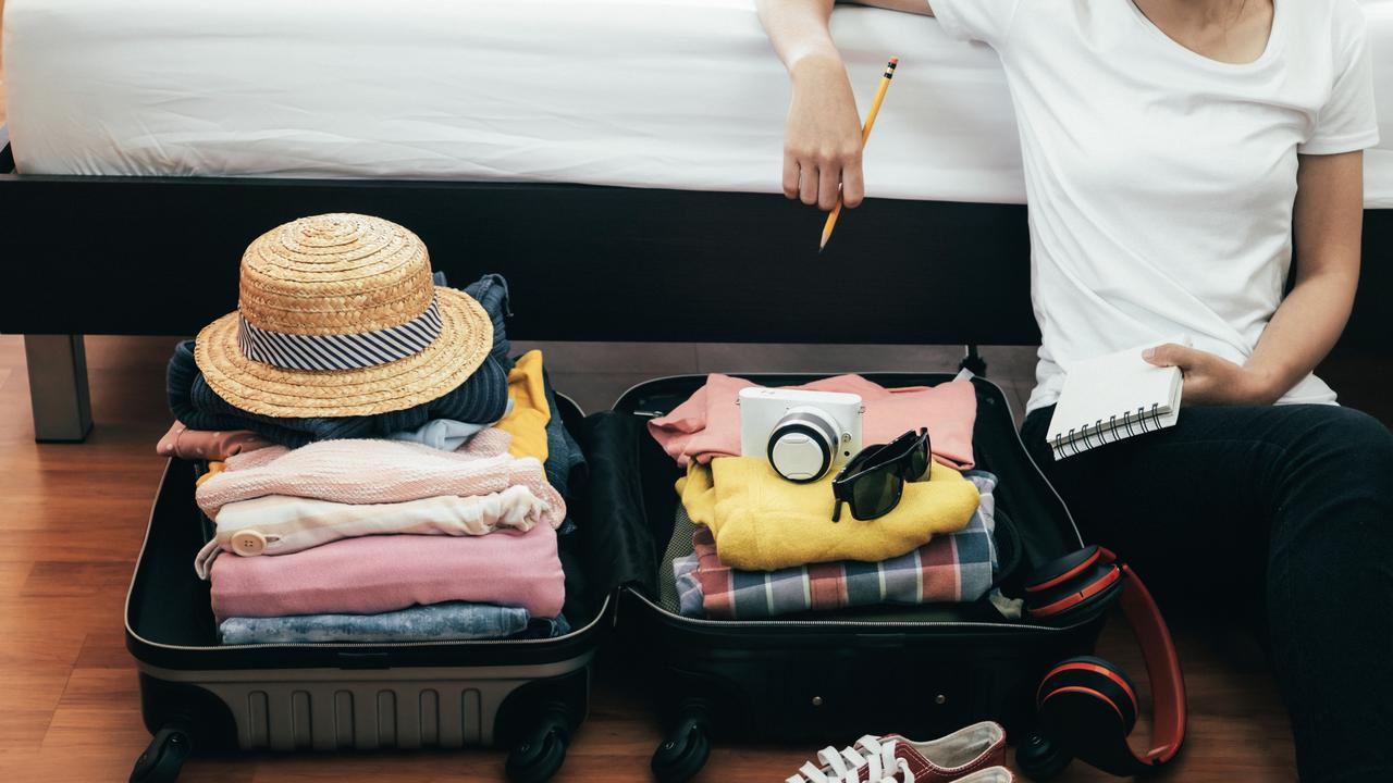 Over-packing is a common holiday ailment.